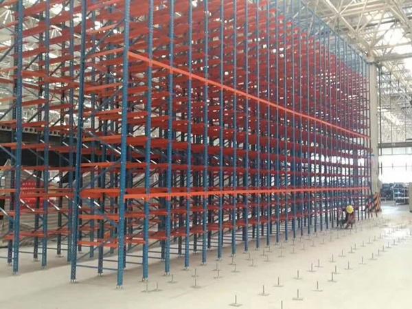 重庆某家电企业重型仓储货架项目