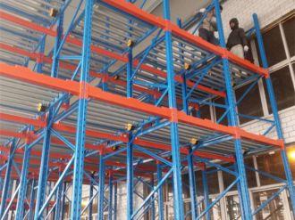 Xianju heavy-duty warehouse shelf project