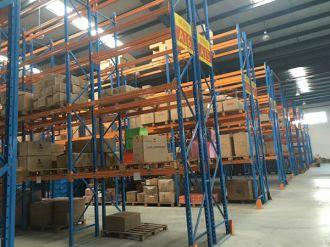 宁波西腾为广州某企业生产仓库货架项目顺利竣工
