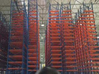 Xiteng large heavy-duty shelf project