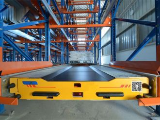 Xiteng large shuttle shelf project